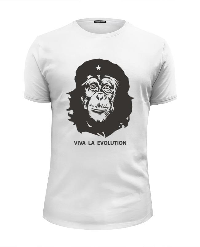 Футболка Wearcraft Premium Slim Fit Printio Viva la evolution