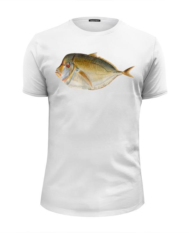 Футболка Wearcraft Premium Slim Fit Printio Moon fish