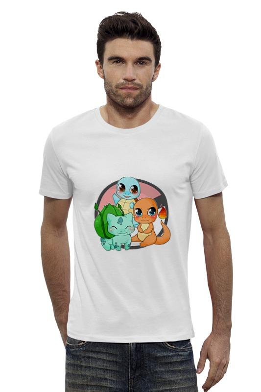 Футболка Wearcraft Premium Slim Fit Printio Покемоны (pokemon) футболка wearcraft premium slim fit printio pokemon raichu