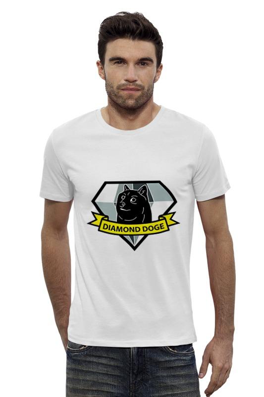 Футболка Wearcraft Premium Slim Fit Printio Diamond doge (metal gear solid)