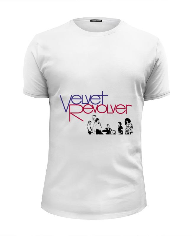 Футболка Wearcraft Premium Slim Fit Printio Velvet revolver