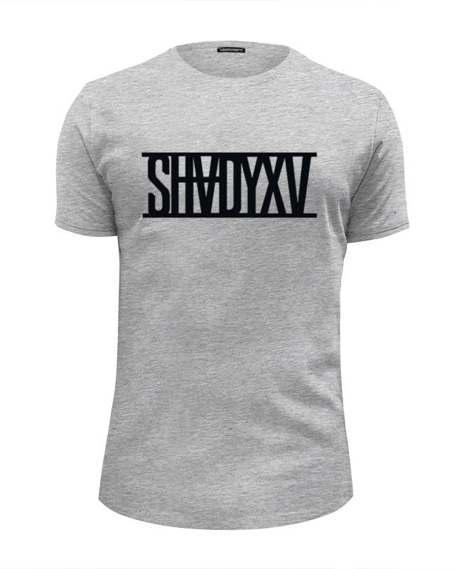 все цены на Футболка Wearcraft Premium Slim Fit Printio Eminem shadyxv онлайн
