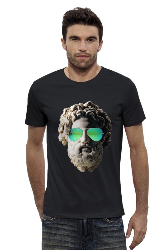 Футболка Wearcraft Premium Slim Fit Printio Греческий бог s reinach евлалия или греческий без слез