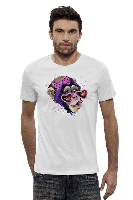 Футболка Wearcraft Premium Slim Fit Printio Art monkey 2016 футболка wearcraft premium slim fit printio psy art arsb