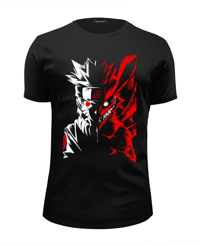 Футболка Wearcraft Premium Slim Fit Printio Naruto (наруто)