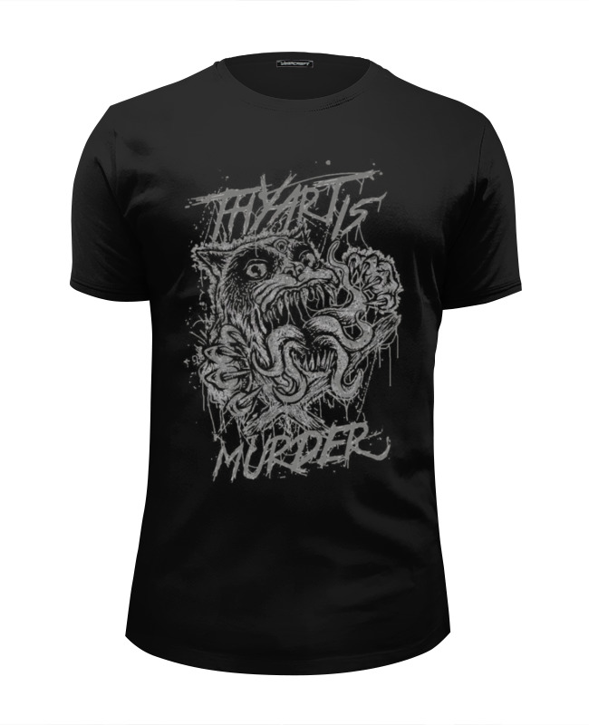 Футболка Wearcraft Premium Slim Fit Printio Thy art is murder футболка print bar murder