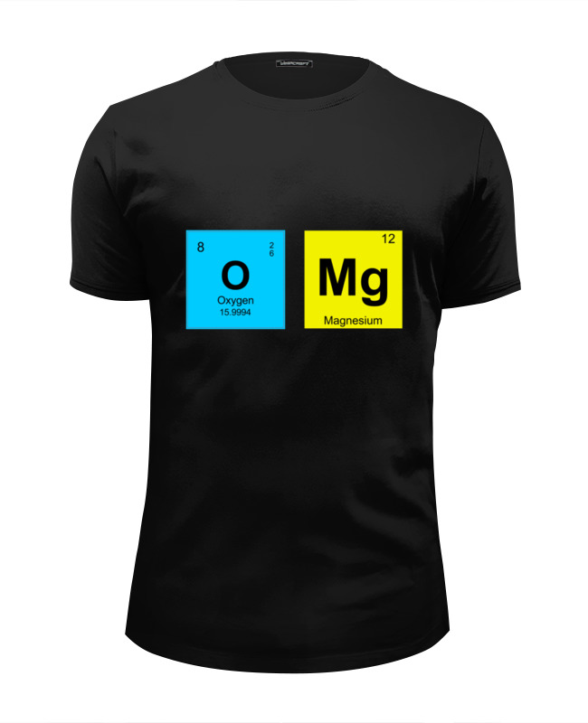 Футболка Wearcraft Premium Slim Fit Printio Omg! футболка wearcraft premium slim fit printio omg it s a bomb