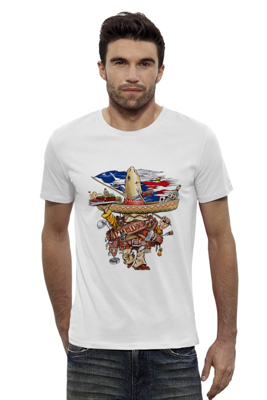 Футболка Wearcraft Premium Slim Fit Printio Bandito футболка для беременных printio bandito