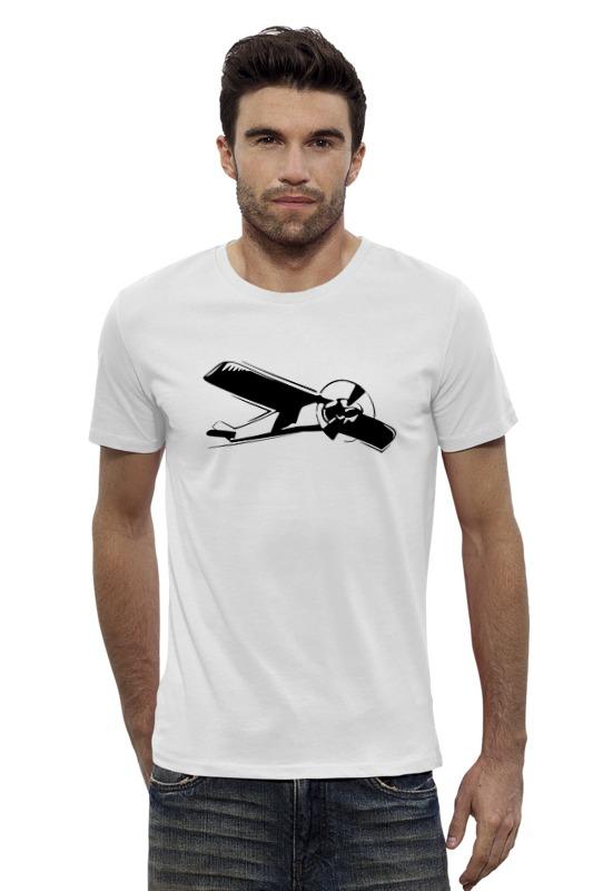Футболка Wearcraft Premium Slim Fit Printio Самолет бюсси м самолет без нее