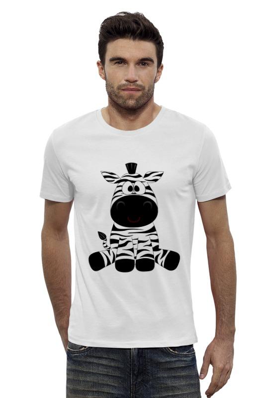 Футболка Wearcraft Premium Slim Fit Printio Зебра футболка wearcraft premium slim fit printio avengers