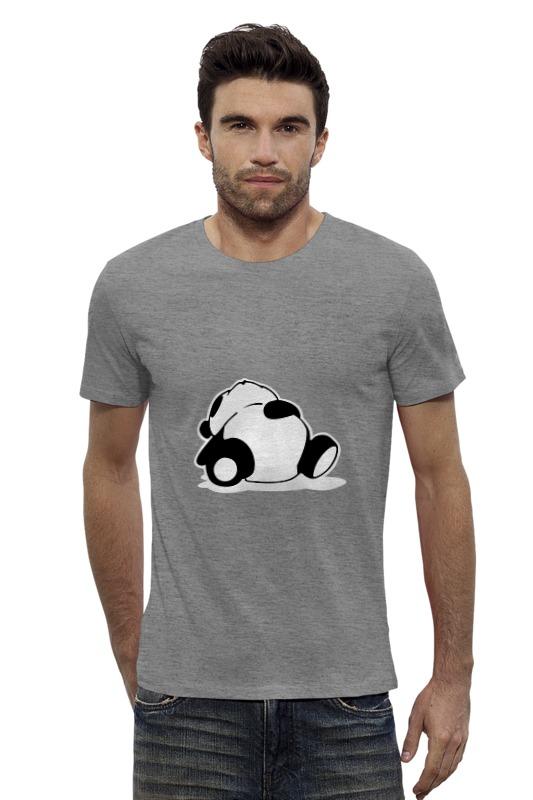 Футболка Wearcraft Premium Slim Fit Printio Спящая панда спящая красавица
