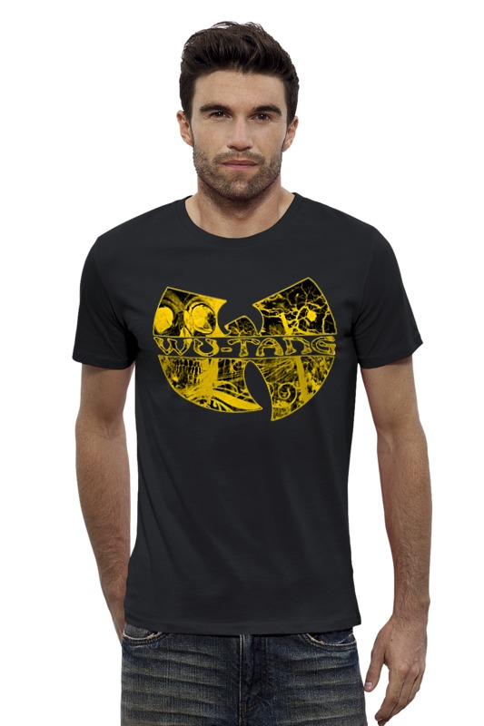 Футболка Wearcraft Premium Slim Fit Printio Wu tang clan футболка wearcraft premium printio нью йорк рейнджерс