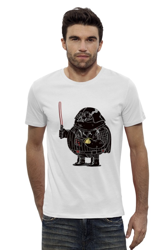 Футболка Wearcraft Premium Slim Fit Printio Fat darth vader футболка wearcraft premium printio fat flash