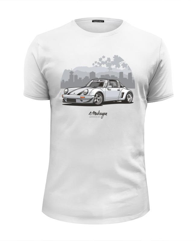 Футболка Wearcraft Premium Slim Fit Printio Rwb porsche 911 футболка wearcraft premium slim fit printio porsche carrera 911