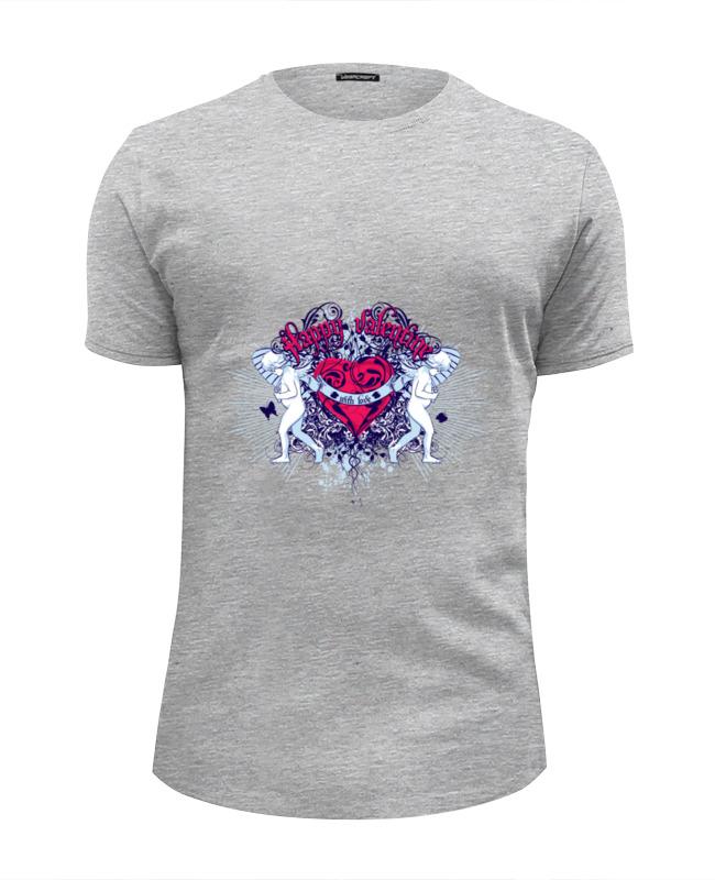 Футболка Wearcraft Premium Slim Fit Printio День святого валентина футболка wearcraft premium slim fit printio боулинг
