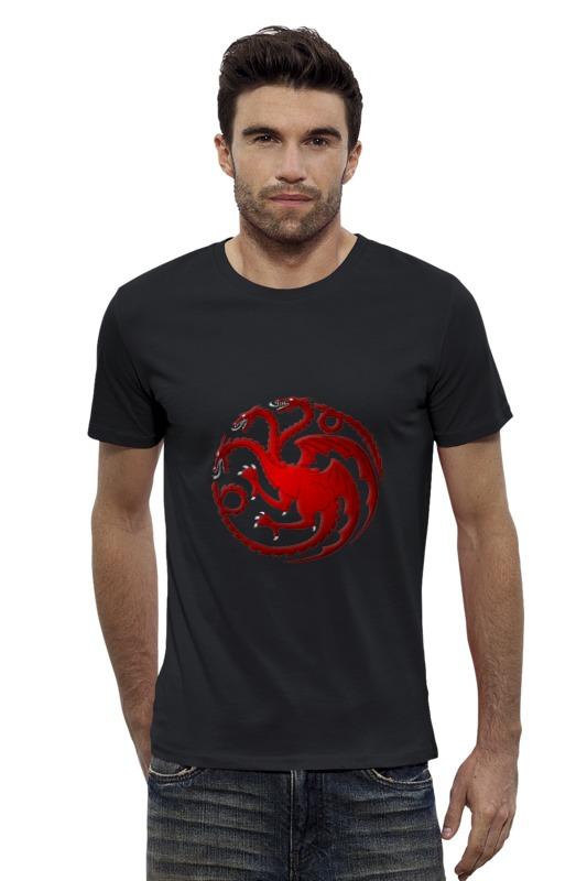 Футболка Wearcraft Premium Slim Fit Printio House targaryen футболка wearcraft premium printio игра престолов