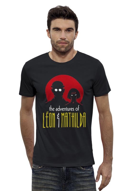 Футболка Wearcraft Premium Slim Fit Printio Леон и матильда футболка wearcraft premium slim fit printio фильм леон leon