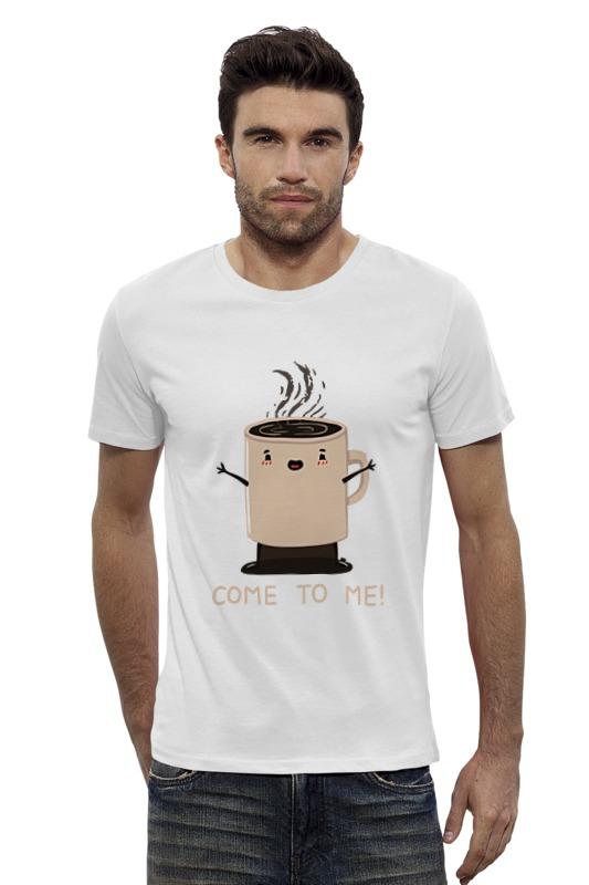 Футболка Wearcraft Premium Slim Fit Printio Кофе. футболка wearcraft premium slim fit printio ахтунг