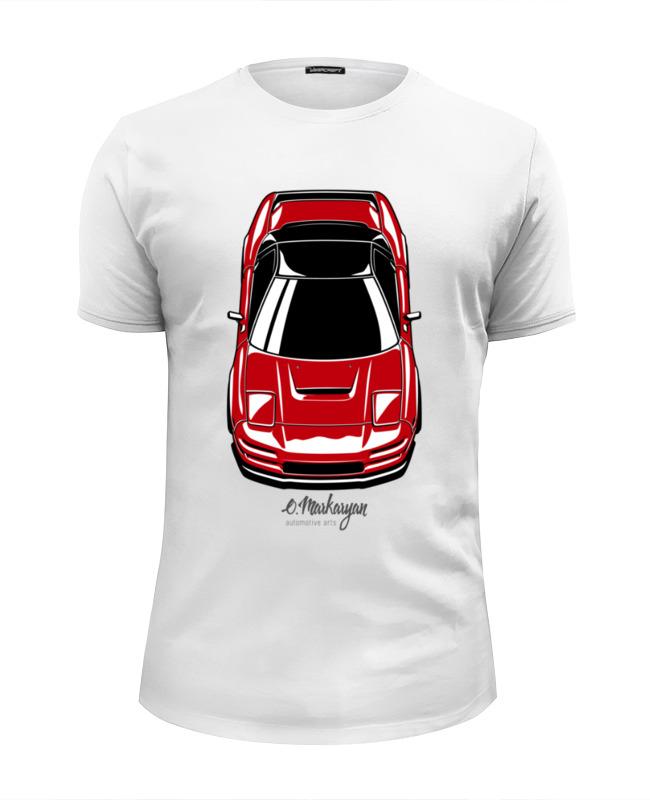 Футболка Wearcraft Premium Slim Fit Printio Honda / acura nsx