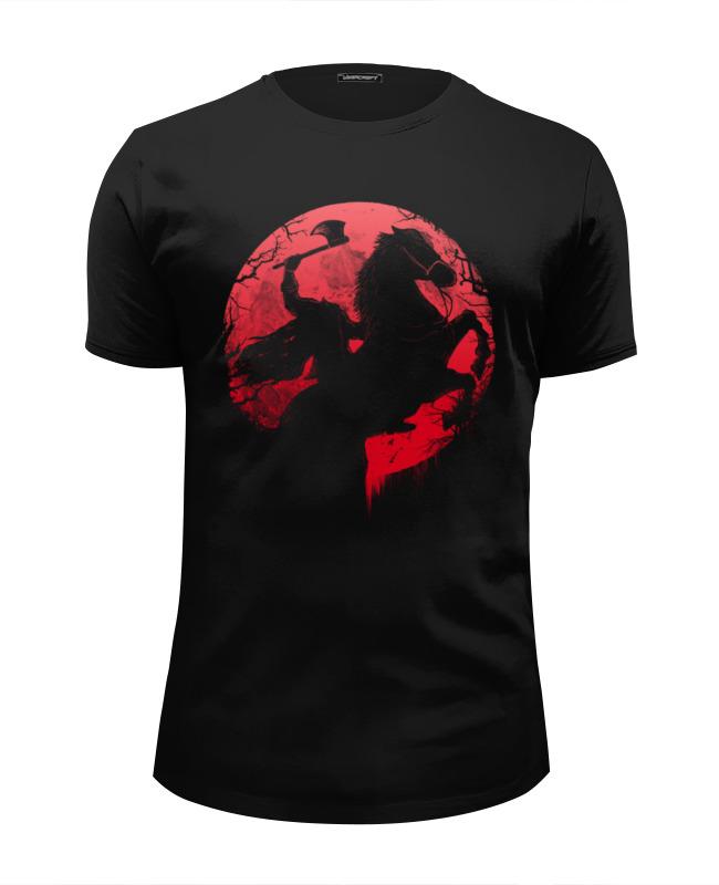 Футболка Wearcraft Premium Slim Fit Printio Всадник без головы футболка wearcraft premium slim fit printio горячие головы 2