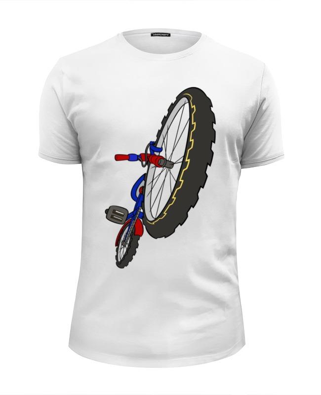 Футболка Wearcraft Premium Slim Fit Printio Велосипед