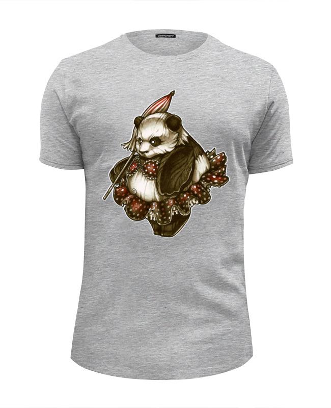 Футболка Wearcraft Premium Slim Fit Printio Panda girl футболка wearcraft premium printio sumo girl