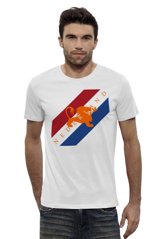 Футболка Wearcraft Premium Slim Fit Printio Нидерланды футболка стрэйч printio нидерланды