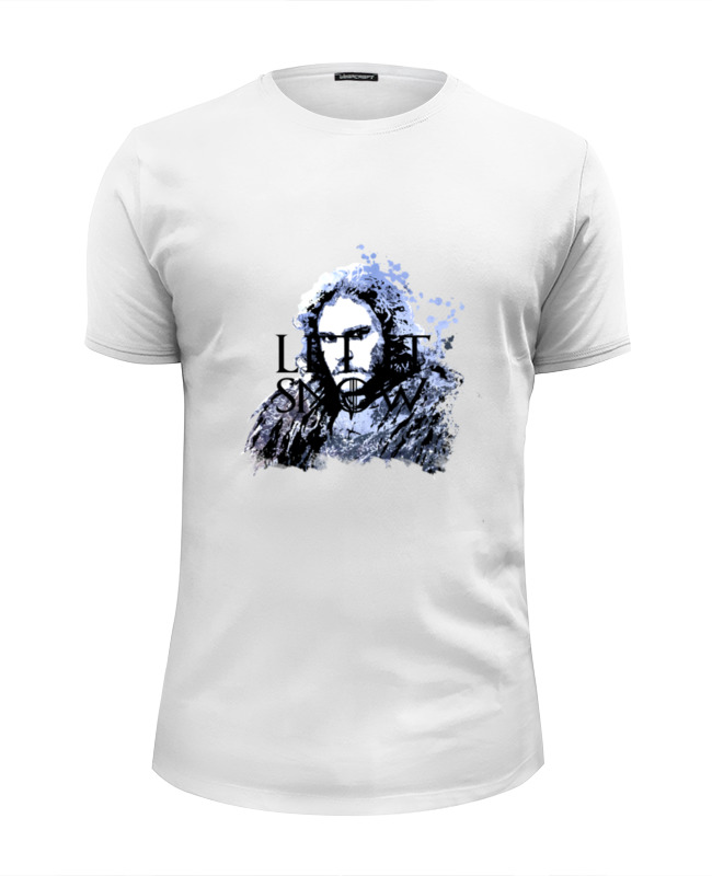 Футболка Wearcraft Premium Slim Fit Printio Jon snow из сериала игра престолов (5) jon hopkins london