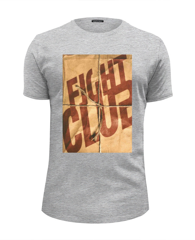 Футболка Wearcraft Premium Slim Fit Printio Fight club / бойцовский клуб футболка fight nights