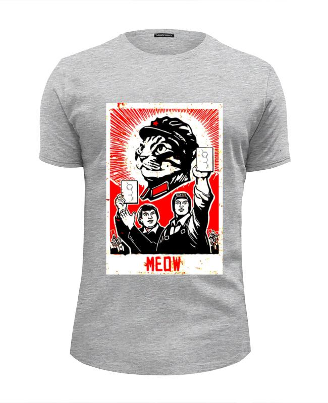 Футболка Wearcraft Premium Slim Fit Printio Meow футболка wearcraft premium printio meow meow