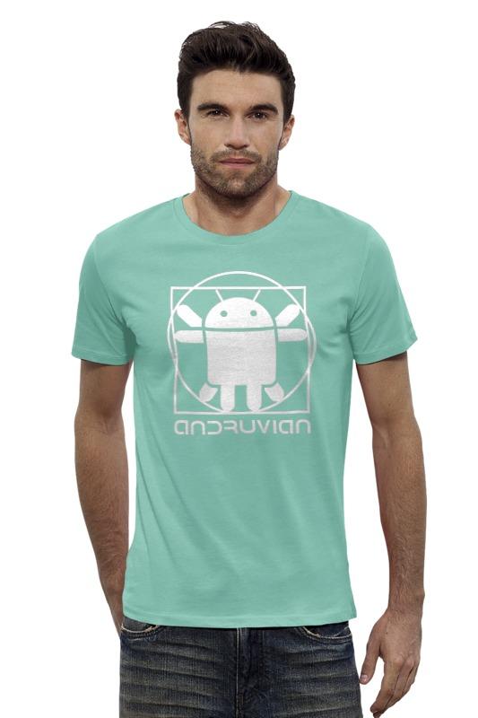 Футболка Wearcraft Premium Slim Fit Printio Витрувианский андроид