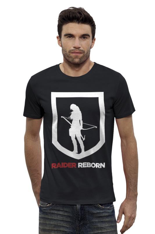 Футболка Wearcraft Premium Slim Fit Printio Tomb raider (reborn) майка классическая printio tomb raider reborn