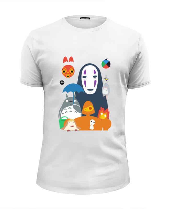 Футболка Wearcraft Premium Slim Fit Printio Герои аниме футболка wearcraft premium printio я настоящая девушка аниме