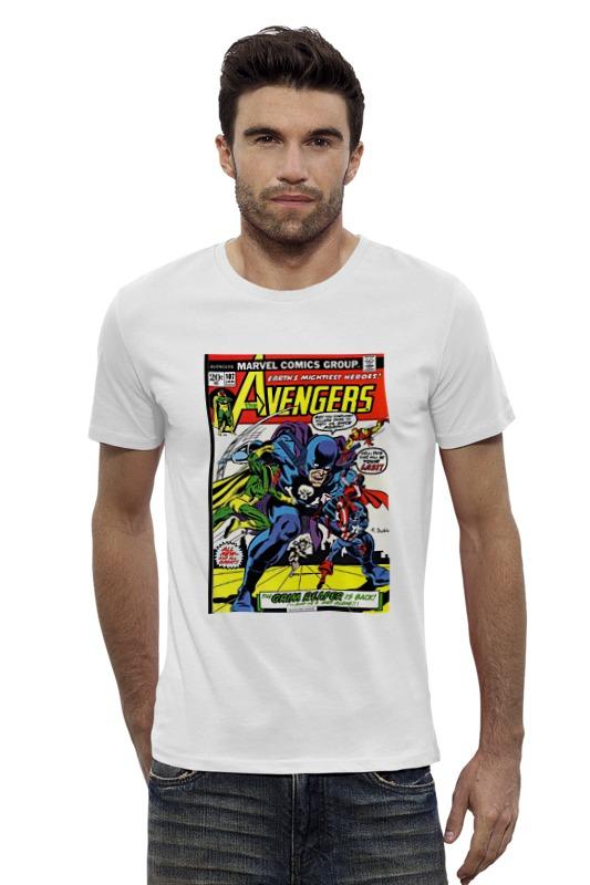 Футболка Wearcraft Premium Slim Fit Printio The avengers / мстители футболка wearcraft premium slim fit printio avengers