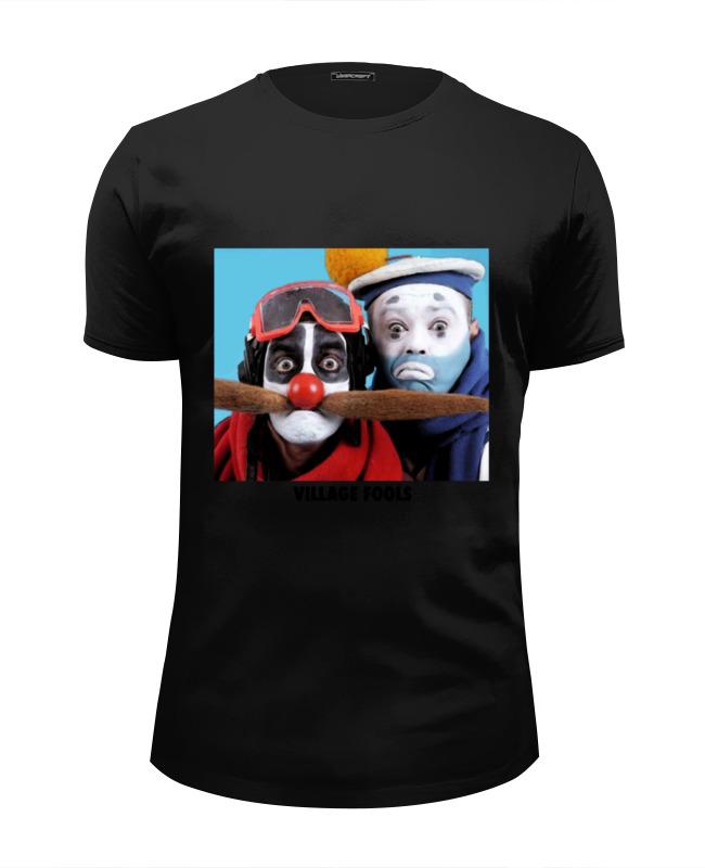 Футболка Wearcraft Premium Slim Fit Printio Village fools футболка wearcraft premium slim fit printio village fools