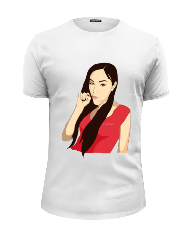 Футболка Wearcraft Premium Slim Fit Printio Sasha grey sasha köln
