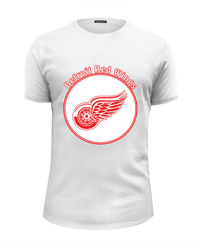 Футболка Wearcraft Premium Slim Fit Printio Detroit red wings big new red wings parrot toy polyethylene