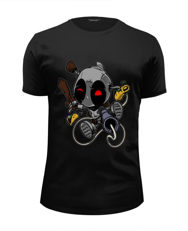 Футболка Wearcraft Premium Slim Fit Printio Дэдпул ( deadpool ) футболка wearcraft premium slim fit printio deadpool merc gym