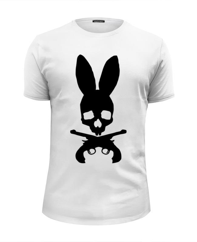 Футболка Wearcraft Premium Slim Fit Printio Череп зайца футболка wearcraft premium slim fit printio череп