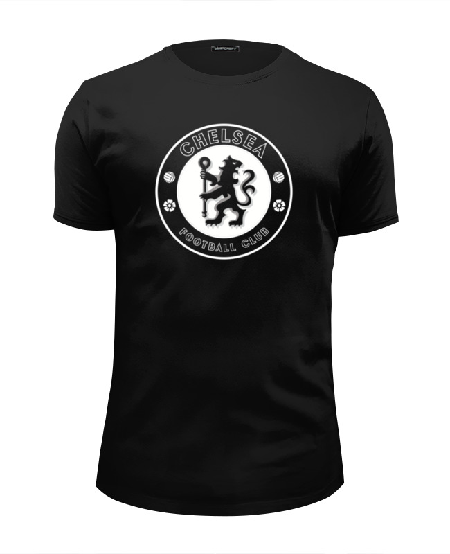 Футболка Wearcraft Premium Slim Fit Printio Chelsea fc (white) майка борцовка print bar fc chelsea