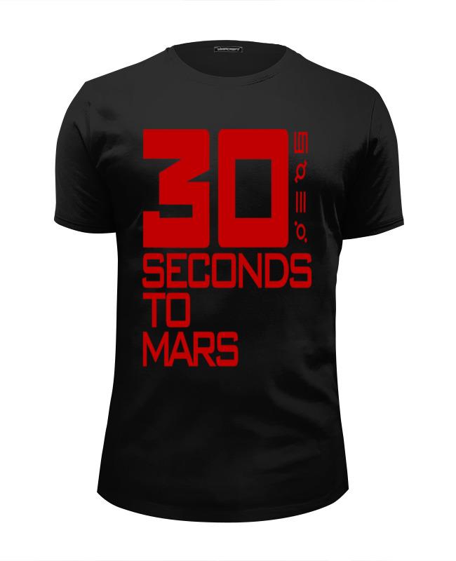 Футболка Wearcraft Premium Slim Fit Printio 30 seconds to mars футболка print bar 30 seconds to mars triad