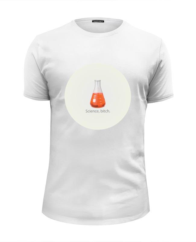 Футболка Wearcraft Premium Slim Fit Printio Science футболка wearcraft premium slim fit printio миньон