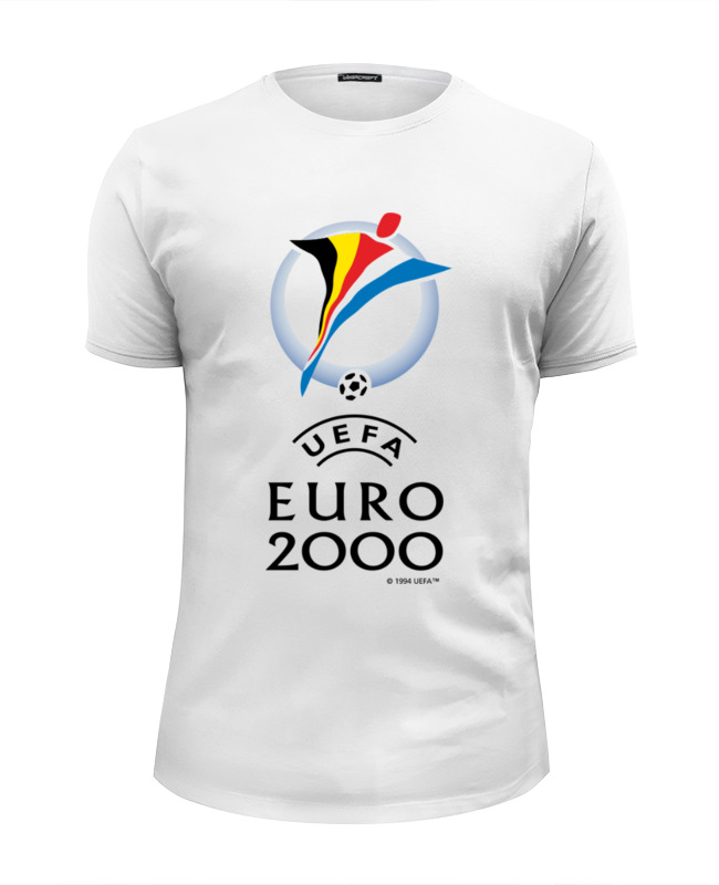 все цены на Футболка Wearcraft Premium Slim Fit Printio Чемпиона европы по футболу 2000 год онлайн