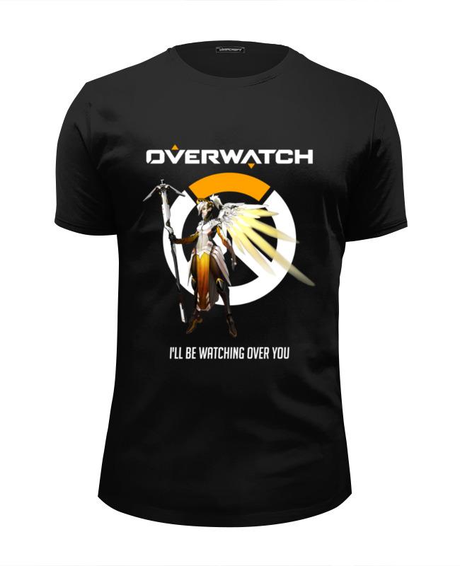 все цены на Футболка Wearcraft Premium Slim Fit Printio Overwatch. ангел онлайн
