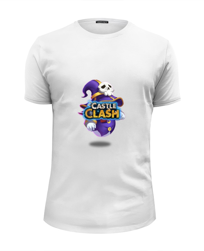 Футболка Wearcraft Premium Slim Fit Printio Маг духа castle clash сумка printio маг духа castle clash