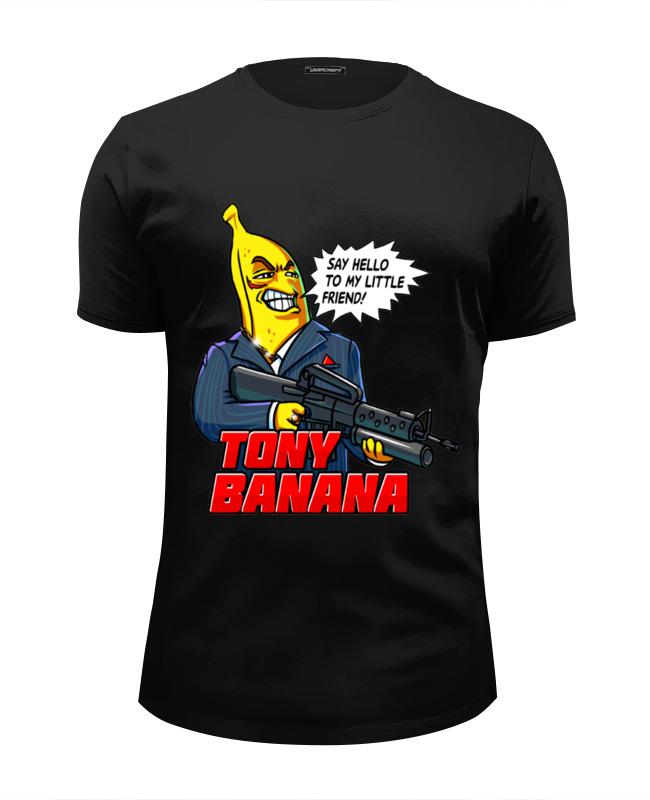 Футболка Wearcraft Premium Slim Fit Printio Tony banana коллаген 3d косметика официальный сайт