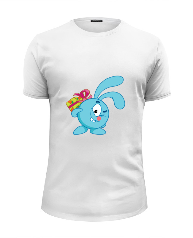 Футболка Wearcraft Premium Slim Fit Printio Смешарики футболка wearcraft premium slim fit printio смешарики