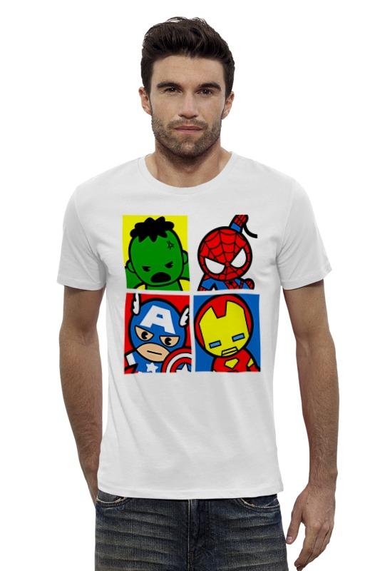 Футболка Wearcraft Premium Slim Fit Printio Мстители футболка wearcraft premium slim fit printio мстители лего