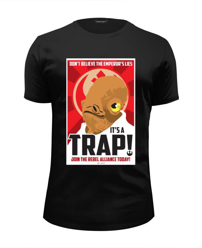 Футболка Wearcraft Premium Slim Fit Printio It's a trap! [sa]mersen smartspot fuse amp trap fuses ajt4 4a 600v 27 51mm