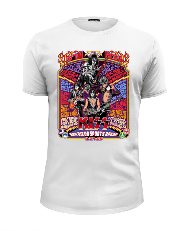 Фото - Printio Kiss band футболка wearcraft premium slim fit printio hammerfall band